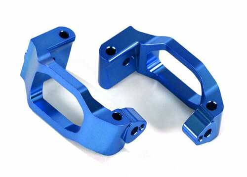 Traxxas Caster blocks (c-hubs), 6061-T6 aluminum (blue-anodized), left & right (TRA8932X)