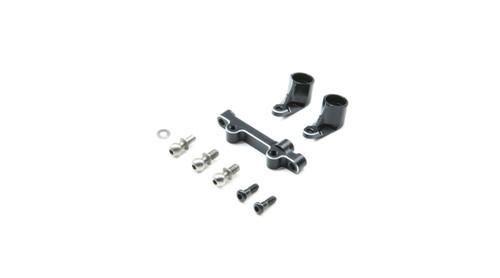 Losi Mini-T 2.0 Aluminum Bellcranks & Drag Link (Black) (LOS311002)