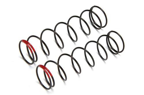 HB Racing 83mm Big Bore Shock Spring (Red) (2) (75.8gF) (HBS109817)