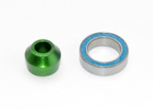 Traxxas Bearing adapter, 6061-T6 aluminum (green-anodized) (TRA6893G)