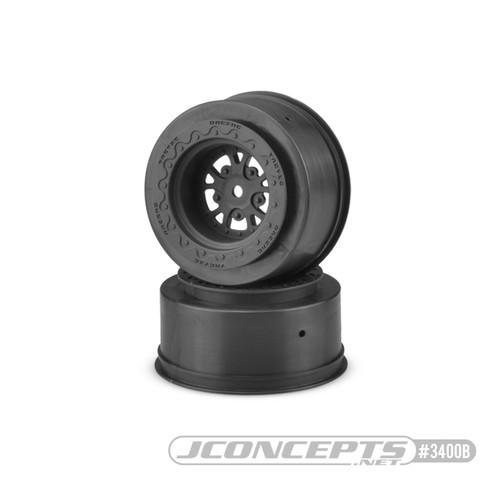 JConcepts Tactic - Street Eliminator Rear Wheels (Black)
