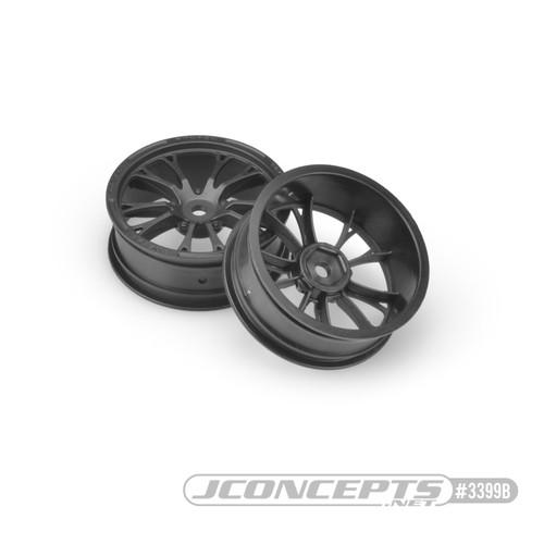 JConcepts Tactic - Street Eliminator Front Wheels (Black)
