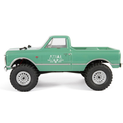 Axial SCX24 1967 Chevrolet C10 1/24 4WD RTR Scale Mini Crawler (Light Green) w/2.4GHz Radio