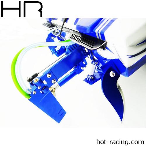 Hot Racing Traxxas Spartan Aluminum Dual Pickup Rudder Blade