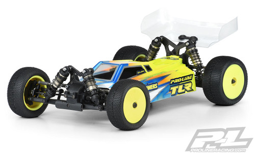 Pro-Line TLR 22X-4 Axis 4WD 1/10 Buggy Body (Clear) (Light Weight)