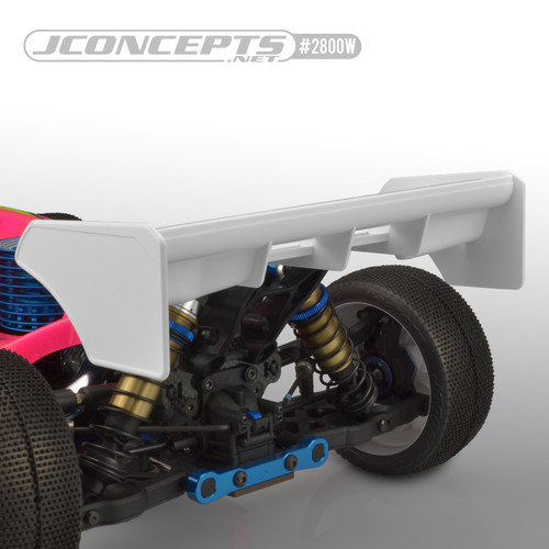 JConcepts F2I 1/8th Buggy|Truggy Wing (White)
