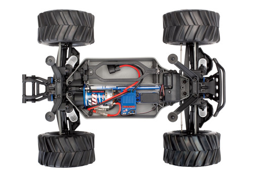 Traxxas Stampede 4X4 1/10 4WD Monster Truck Kit w/XL-5 ESC, Motor & TQ 2.4GHz Radio (Assembly Required)