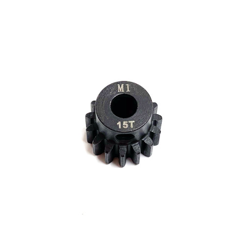 Assault RC Precision Steel Hardened Mod 1 Pinion Gear (15T) (5mm Bore)