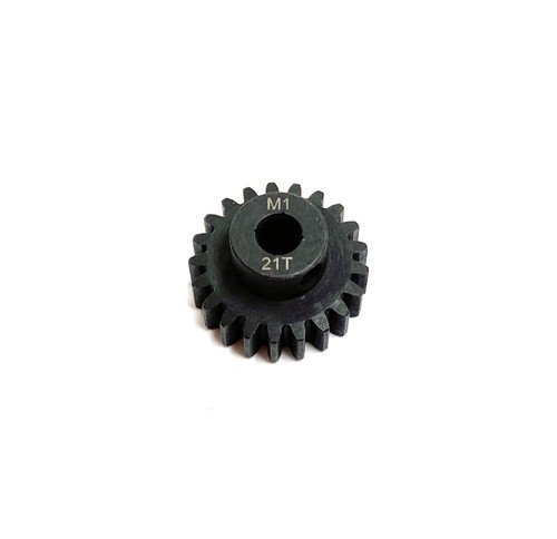 Assault RC Precision Steel Hardened Mod 1 Pinion Gear (21T) (5mm Bore)
