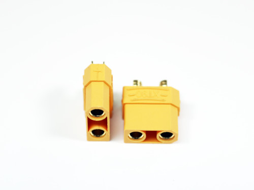 Assault RC High Current XT90 Connectors (2) (Female/Battery)