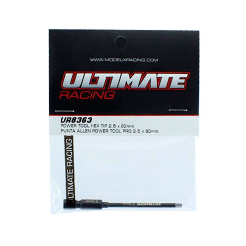 Ultimate Racing Power Tool Hex Tip 2.5 x 80mm