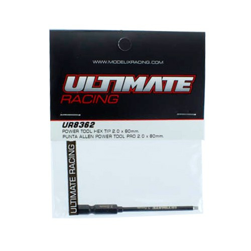 Ultimate Racing Power Tool Hex Tip 2.0 x 80mm