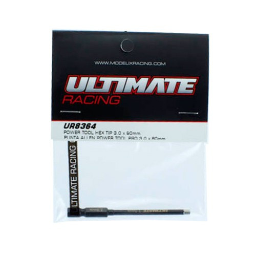 Ultimate Racing Power Tool Hex Tip 3.0 x 80mm