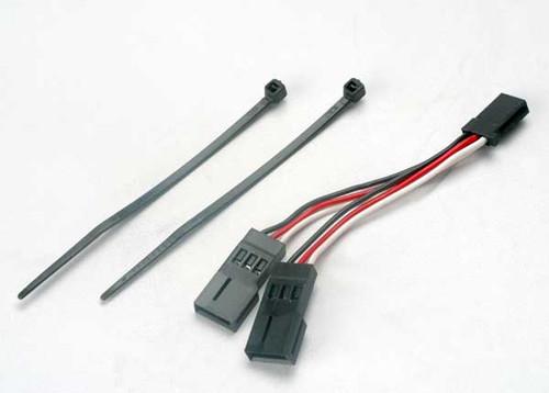 Traxxas Servo connector, Y adapter (for dual-servo steering) (TRA2046)