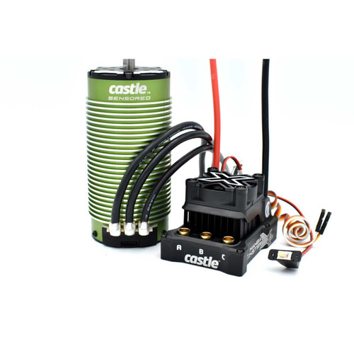 Castle Creations Mamba Monster X 8S 1/6 ESC/Motor Combo w/2028 Sensored Motor (800kV)