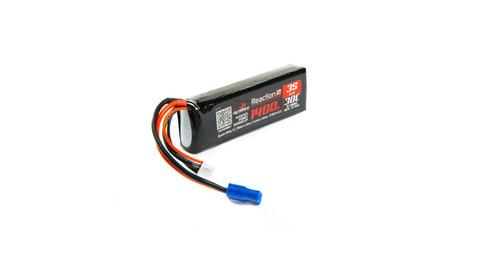 Dynamite 11.1V 1400mAh 3S 30C Reaction 2.0 LiPo Battery: EC3