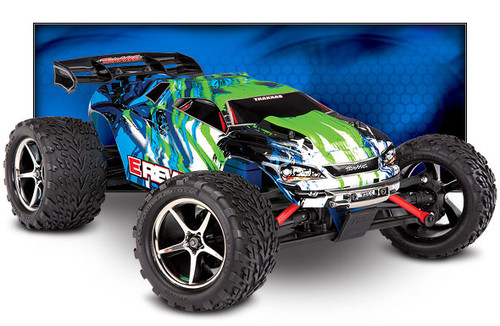 Traxxas E-Revo 1/16 4WD Brushed RTR Truck (Green) w/2.4GHz Radio, Titan 550 & Battery