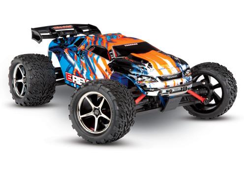 Traxxas E-Revo 1/16 4WD Brushed RTR Truck (Orange) w/2.4GHz Radio, Titan 550 & Battery