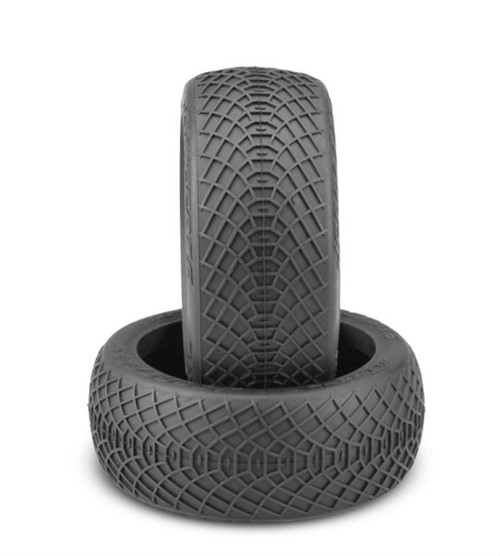JConcepts Ellipse 1/8th Buggy Tires (2) (Silver)