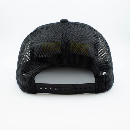 ProCircuit Original Snapback Retro Trucker Hat (Black)