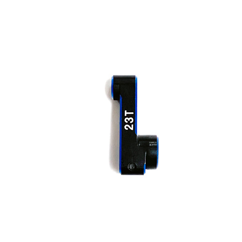 Assault RC 23.5mm Clamping Servo Horn (23T) (Black/Blue)