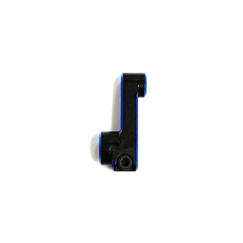 Assault RC 23.5mm Clamping Servo Horn (25T) (Black/Blue)