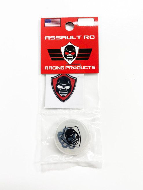 Assault RC Revolver M3x.5mm Ball Stud Washer Set (Black) (10)