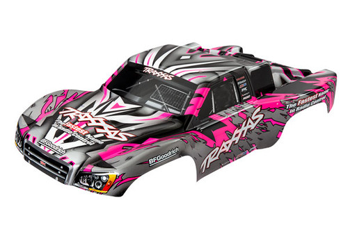 Traxxas Body, Slash 4X4/Slash, pink (painted, decals applied) (TRA5847)