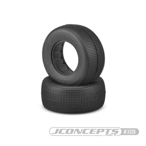 JConcepts Sprinter Short Course Dirt Oval Tires (2) (Green) (JCO3128-02)