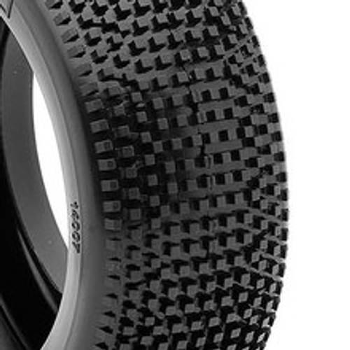 AKA 1:8 BUGGY IMPACT TIRES W/RED INSERTS (SOFT) (AKA14007SR) tread