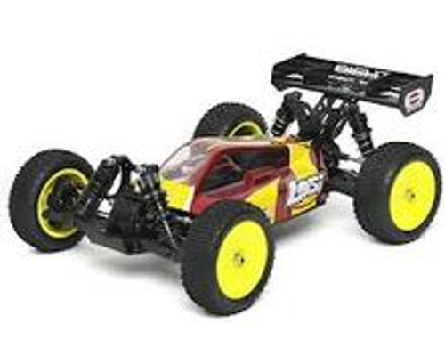 Losi Mini 8IGHT 1/14 Scale 4WD Electric Buggy RTR w/2.4GHz & Brushless System (Red) (LOSB0224T2)