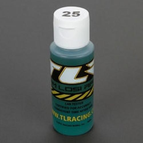TLR Silicone Shock Oil, 25wt, 2 oz (TLR74004)