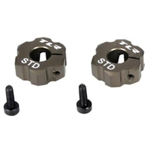 Rear Hex, Standard Width, Aluminum: 22 (TLR2930)