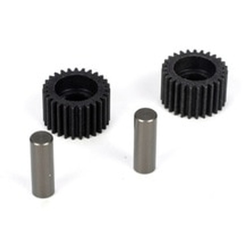 TLR Idler Gear & Shaft (2): 22 (TLR2966)