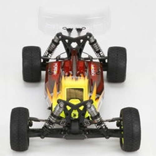 TLR Team Losi Racing 22-4 Cab Forward Body Set (Clear) (TLR330003)