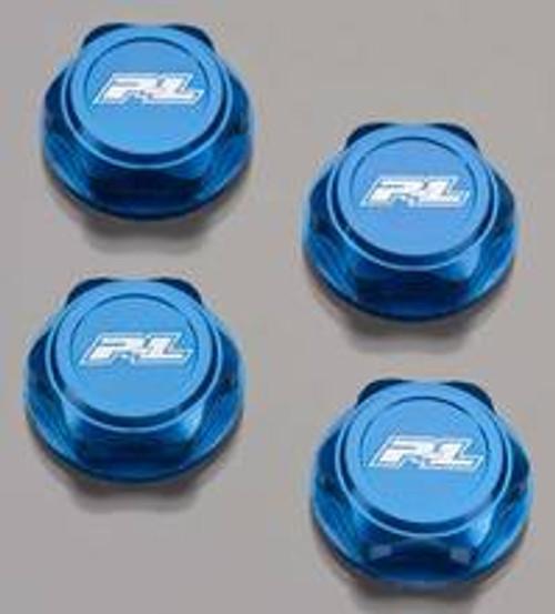 """Pro-Line """"Pro-Cap"""" 17mm Wheel Nuts (Blue) (4)"""
