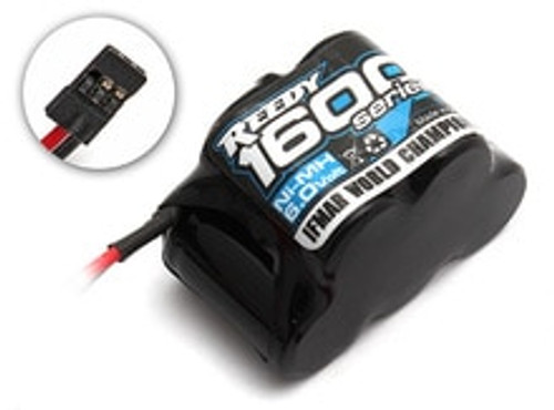 Associated Reedy 1600 NiMH 6.0V 1600mAh Hump Rx Pack (ASC612)