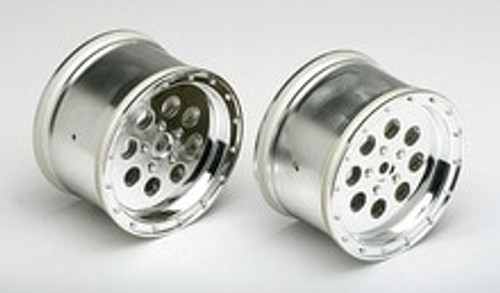 Team Associated Chrome Wheels (2) (ASC25171)