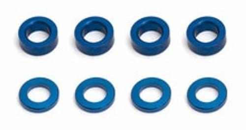 TEAM ASSOCIATED Factory Team Aluminum Ballstud Washer (8) (ASC31286)