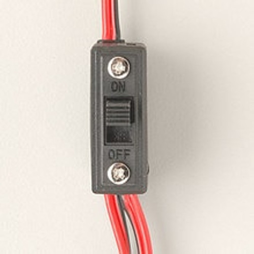 HITEC Standard Receiver Switch Harness with Charging Connector