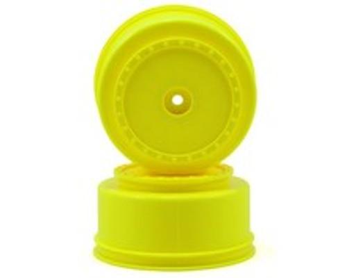 DE Racing Borrego Short Course Wheels w/2.5mm Offset (Yellow) (2) (DESC210/410)
