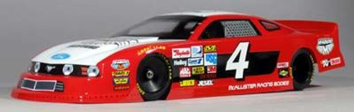 McAllister MUSTANG NW 1:10 OVAL BODY (MCA277)