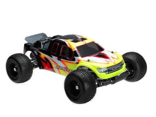 "JCONCEPTS Illuzion Rustler ""Raptor SVT"" Body (Clear)"