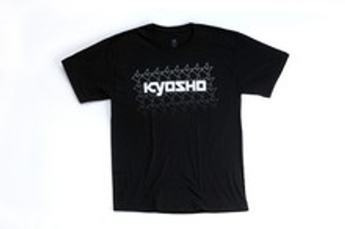 KYOSHO Black K Fade Short Sleeve - Xtra Large (KA10002SXB)