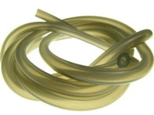RACERS EDGE SILICONCE FUEL LINE - SMOKE - 1FT