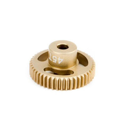 "Calandra Racing Concepts ""The Gold Standard"" 45T (64P) Pinion"