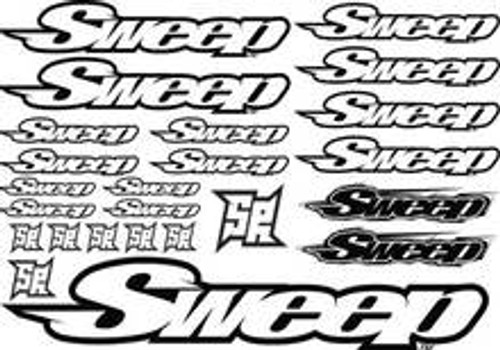 SWEEP SWEEP RACING DECAL SHEET (SWP-03)