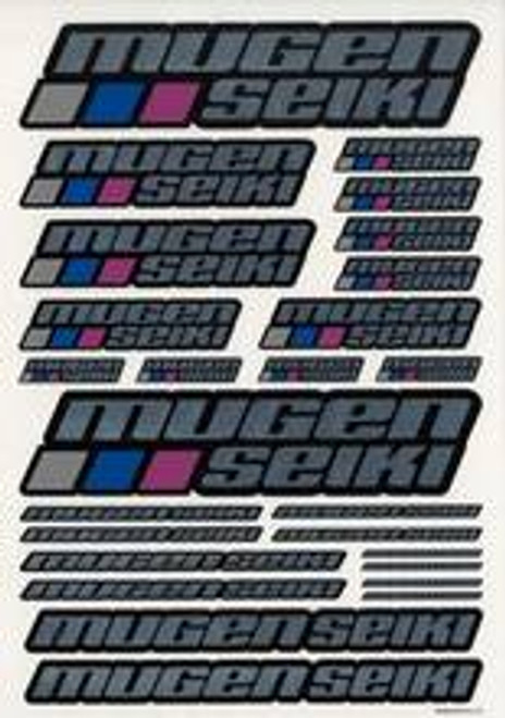 MUGEN SEIKI Chrome Decal Sheet Large (MUGP0403)