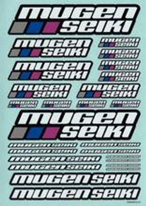 MUGEN SEIKI Decal Sheet Large (MUGP0402)