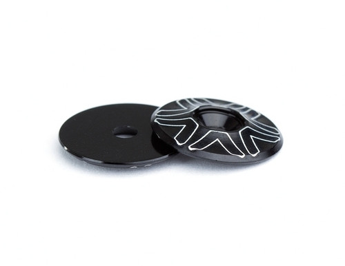 AVID 10th Wing Mount Buttons - Black (2)